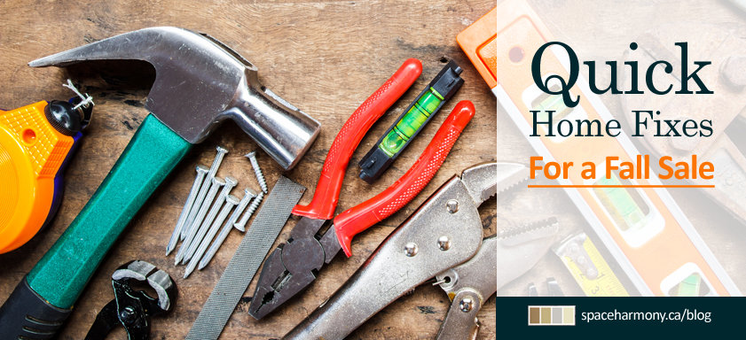 Quick Home Fixes For a Fall Real Estate Sale