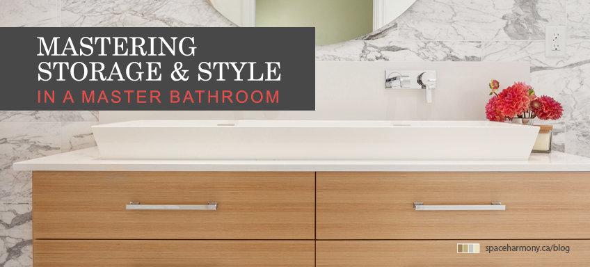 mastering storage style master basthroom