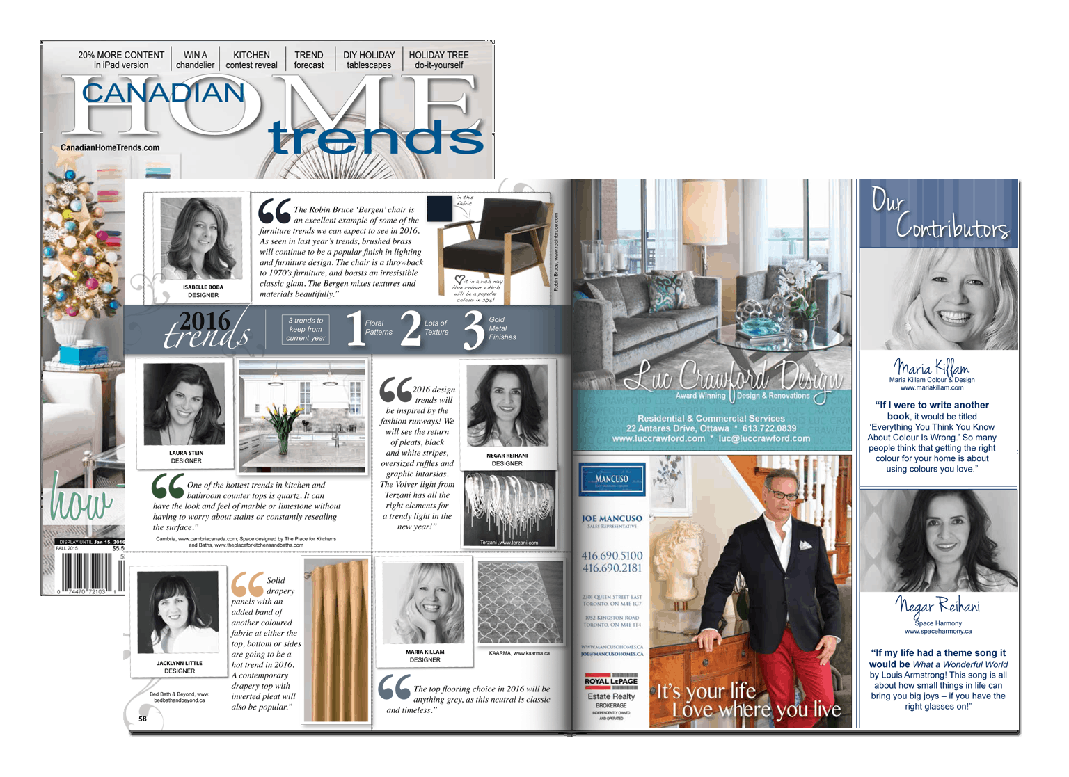 Canadian Home Trends – 2016 Trends Prediction