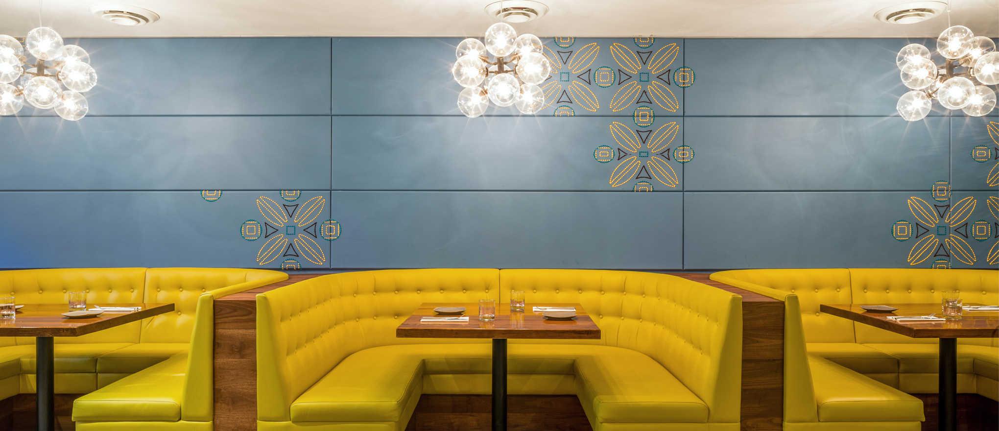 Tips for restaurant interior design space harmony - Harmony in interior design ...