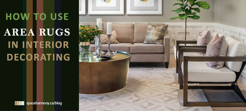 How To Use Area Rugs In Interior Decorating Space Harmony